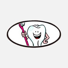 Happy Tooth & Brush Patches