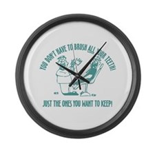 Just the ones you want to kee Large Wall Clock