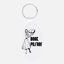 Book Pusher Keychains