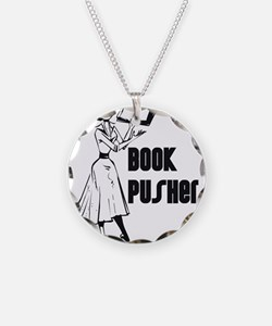 Book Pusher Necklace