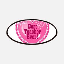Voted Best Teacher EVER Patches