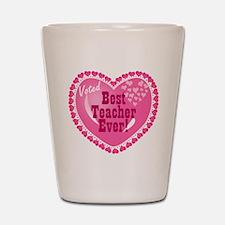 Voted Best Teacher EVER Shot Glass