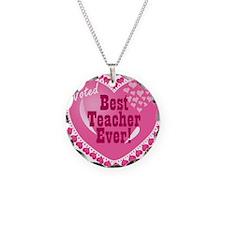 Voted Best Teacher EVER Necklace