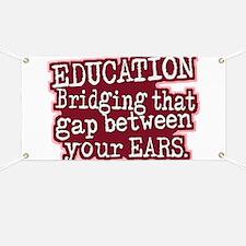 Education, Bridging That GAP Banner