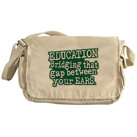 Education, Bridging That GAP Messenger Bag