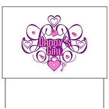 Daddy's Girl Pink/Fuschia Yard Sign