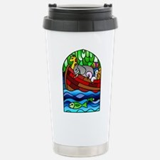 Noah's Ark Stained Glass Stainless Steel Travel Mu