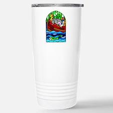 Noah's Ark Stained Glass Travel Mug