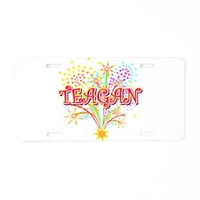 Sparkle Teagan Personalized Aluminum License Plate