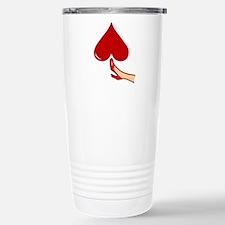 Kicked In The Heart / Butt Travel Mug