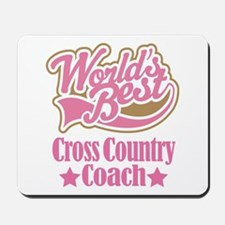 Cross Country Coach Gift Mousepad