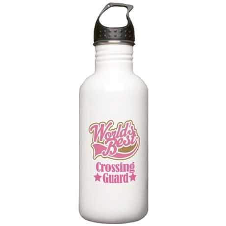 Crossing Guard Gift Stainless Water Bottle 1.0L
