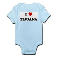 I Love Tijuana Infant Creeper