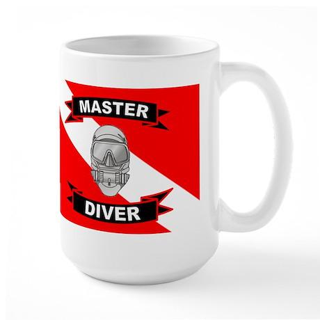 Master Diver Large Mug