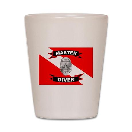 Master Diver Shot Glass