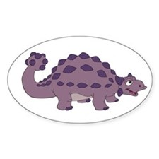 Cartoon Ankylosaurus Decal