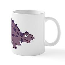 Cartoon Ankylosaurus Small Mug
