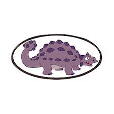 Cartoon Ankylosaurus Patches