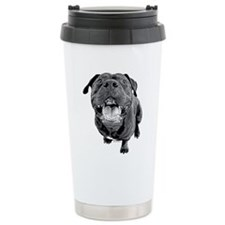 Smiling Staffie Travel Mug