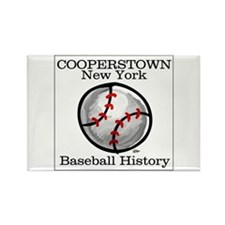 Cooperstown NY Baseball shopp Rectangle Magnet