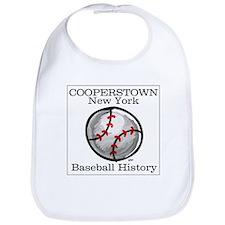 Cooperstown NY Baseball shopp Bib