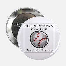 Cooperstown NY Baseball shopp Button