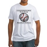 Cooperstown new york Fitted Light T-Shirts
