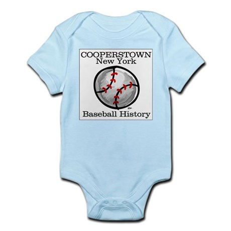 Cooperstown NY Baseball shopp Infant Creeper