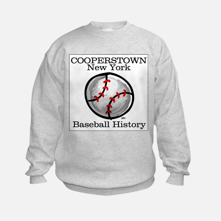 Cooperstown NY Baseball shopp Sweatshirt