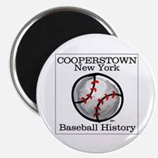 "Cooperstown NY Baseball shopp 2.25"" Magnet (10 pac"