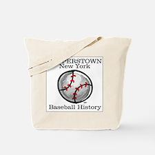 Cooperstown NY Baseball shopp Tote Bag