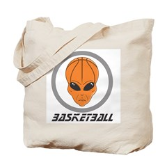Alien Basketball Tote Bag