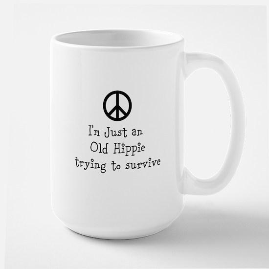 Old Hippie Large Mug