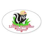 Little Stinker Ellen Sticker (Oval)