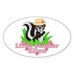 Little Stinker Ellen Sticker (Oval 10 pk)