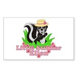 Little Stinker Ellen Sticker (Rectangle 10 pk)