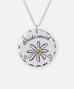 Bridesmaid Daisy Necklace