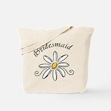 Bridesmaid Daisy Tote Bag