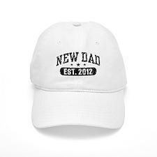 New Dad Est. 2012 Baseball Cap
