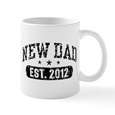 New Dad Est. 2012 Mug