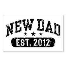 New Dad Est. 2012 Decal