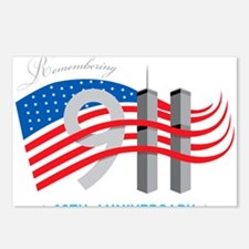 911 - 10th Anniversary Postcards (Package of 8)