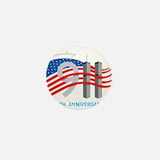 911 - 10th Anniversary Mini Button