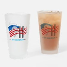 911 - 10th Anniversary Drinking Glass