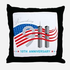 911 - 10th Anniversary Throw Pillow