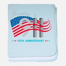 911 - 10th Anniversary baby blanket