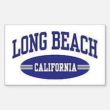 Long Beach California Decal