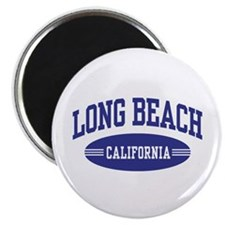 Long Beach California Magnet