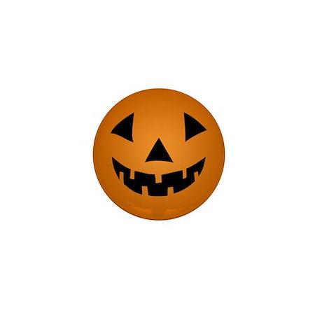 Jack-o-lantern Pumpkin Mini Button (100 pack)