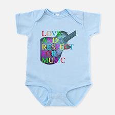 kuuma music 4 Infant Bodysuit